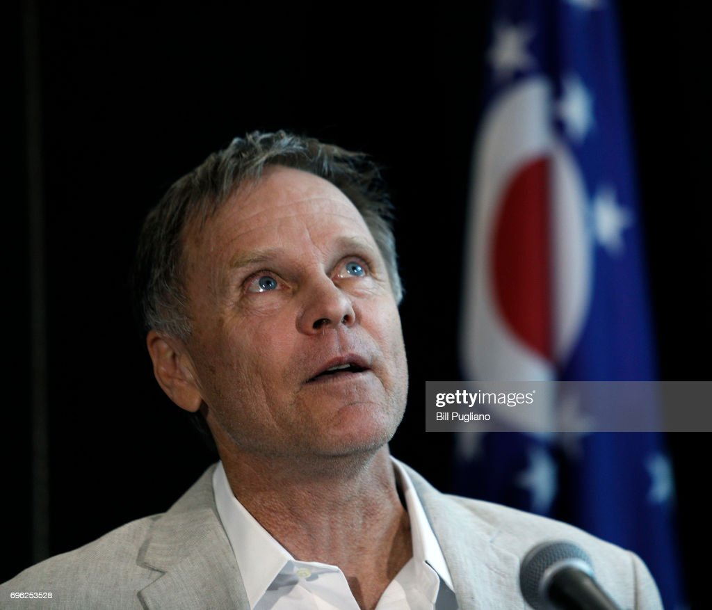 Parents Of Student Released From North Korean Prison Hold Press Conference : News Photo