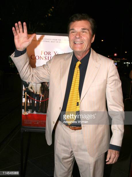 Fred Willard during For Your Consideration Los Angeles Premiere Arrivals at Director's Guild of America in Beverly Hills CA United States