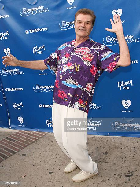 """Fred Willard during Gibson and Baldwin Host 2006 """"Night at the Net"""" - Arrivals at Los Angeles Tennis Center in Westwood, California, United States."""