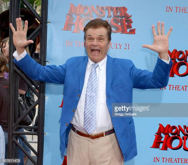 Fred Willard during Monster House Los Angeles Premiere Arrivals at Mann Village Theatre in Westwood California United States
