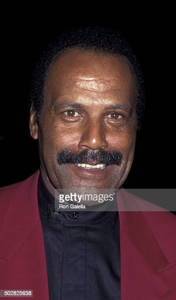 Fred Williamson attends the premiere of From Dusk Till Dawn on January 17 1996 at the Cinerama Dome Theater in Hollywood California
