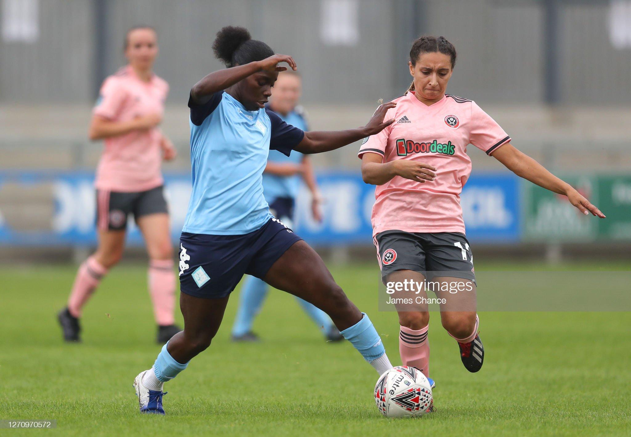 London City Lionesses v Sheffield United - FA Women's Championship : News Photo
