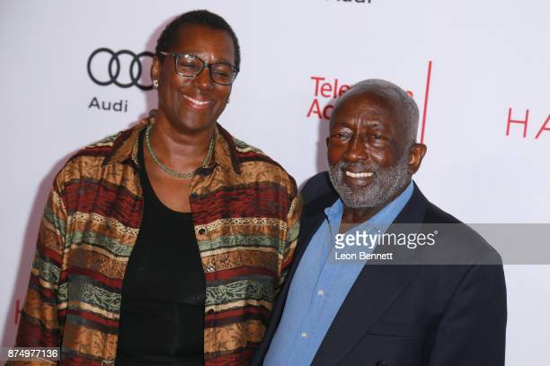 Freda Morris and actor Garrett Morris attends the Television Academy's 24th Hall Of Fame Ceremony at Saban Media Center on November 15 2017 in North...