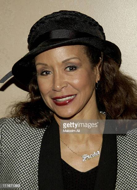 Freda Payne during Hattie and Harold's on Stage Cabaret at The Alex Theatre in Glendale California United States