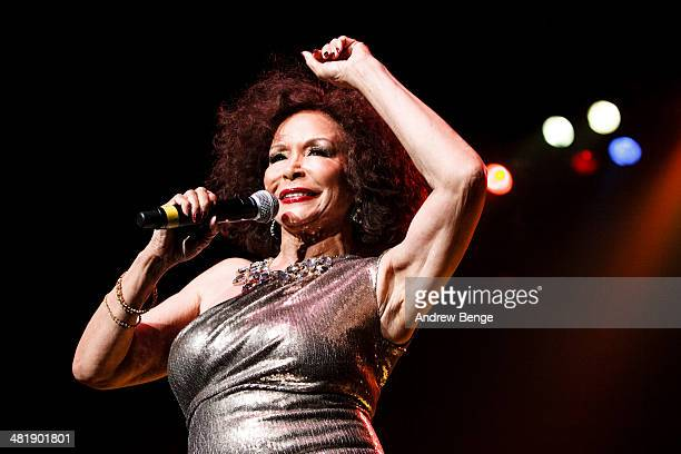 Freda Payne performs on stage at First Direct Arena on April 1, 2014 in Leeds, United Kingdom.