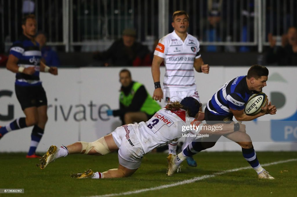 Bath v Leicester Tigers - Anglo-Welsh Cup