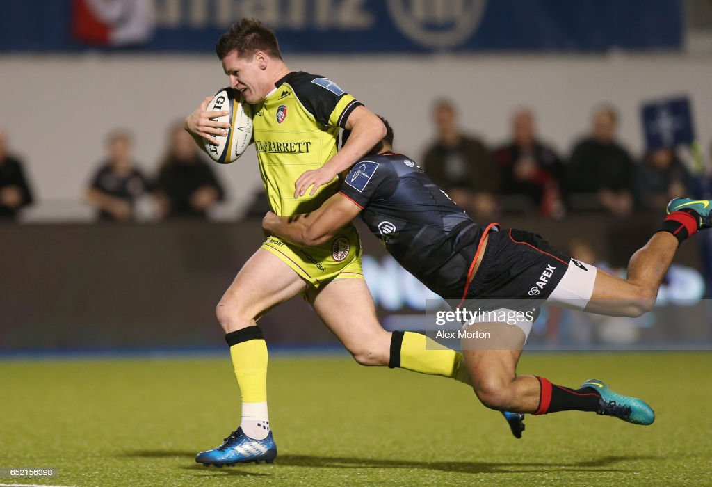Saracens v Leicester Tigers - Anglo-Welsh Cup: Semi Final