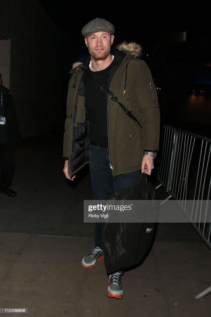 London Celebrity Sightings -  January 23, 2019 : ニュース写真