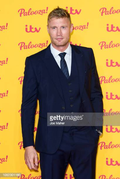 Freddie Flintoff attends the ITV Palooza! held at The Royal Festival Hall on October 16, 2018 in London, England.
