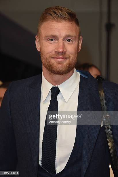 Freddie Flintoff attends the National Television Awards on January 25 2017 in London United Kingdom
