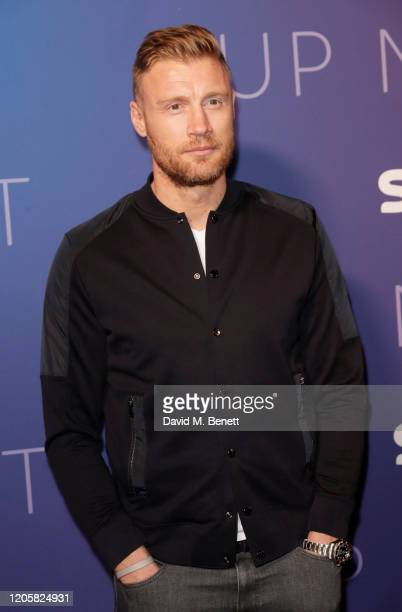 Freddie Flintoff attends the Sky TV, Up Next Event at Tate Modern on February 12, 2020 in London, England. Up Next is Sky's inaugural showcase event...