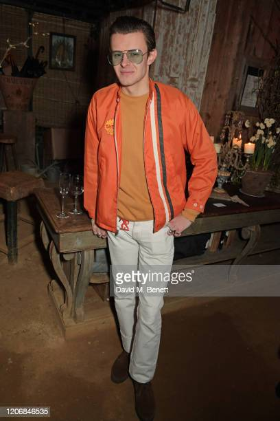 Freddie Foulkes attends the launch of new positive media platform 'whynow' at Petersham Nurseries on March 12 2020 in London England