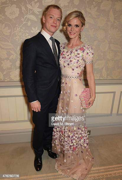 Freddie Fox and Emilia Fox attend the South Bank Sky Arts awards at The Savoy Hotel on June 7 2015 in London England