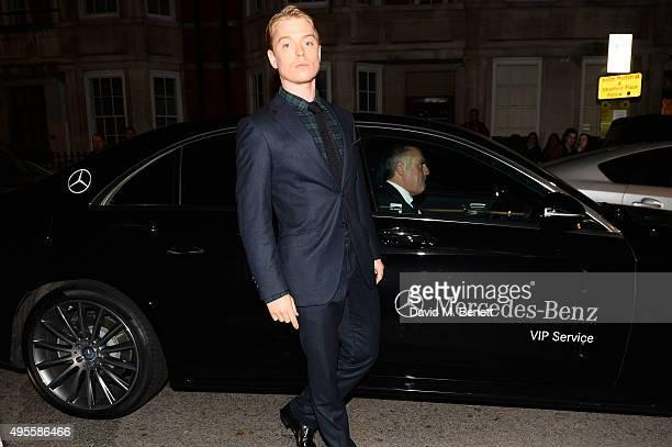 Freddie Fox arrives at Harper's Bazaar Women Of The Year Awards at Claridge's Hotel on November 3 2015 in London England