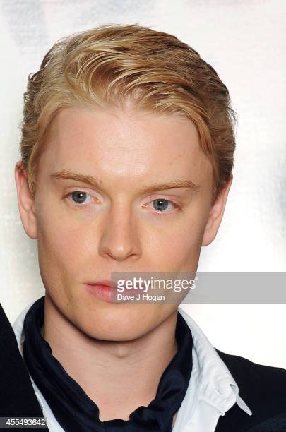 Freddie Fox attends a photocall for the film 'The Riot Club' at The BFI Southbank London on September 15 2014 in London England