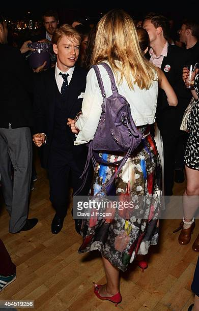Freddie Fox attends an after party for 'Pride' at the Electric Ballroom on September 2 2014 in London England