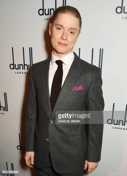 Freddie Fox attends the dunhill and Dylan Jones preBAFTA dinner and cocktail reception celebrating Gentlemen in Film at Bourdon House on February 8...