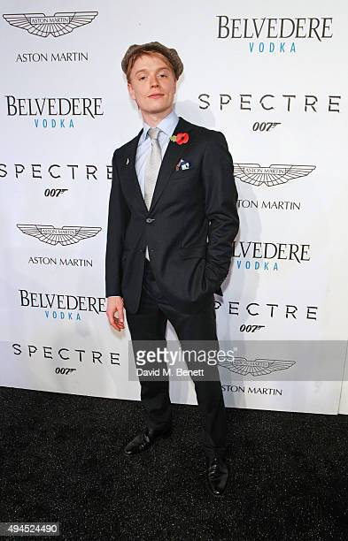 Freddie Fox attends the exclusive screening of Spectre hosted by Belvedere Vodka and Aston Martin at the Curzon Mayfair on October 27 2015 in London...
