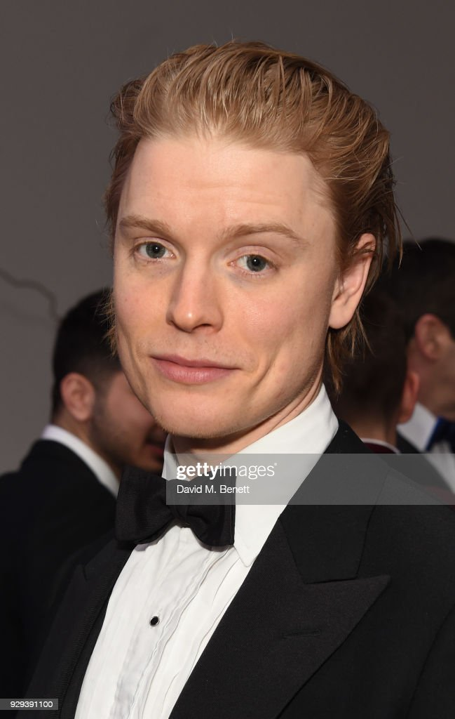 Freddie Fox attends the Hope and Homes for Children 'Once Upon A Time Ball' at One Marylebone on March 8, 2018 in London, England.