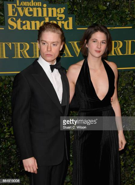 Freddie Fox attends the London Evening Standard Theatre Awards at the Theatre Royal on December 3 2017 in London England