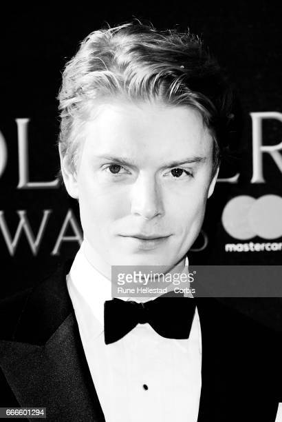 Freddie Fox attends The Olivier Awards 2017 at Royal Albert Hall on April 9 2017 in London England