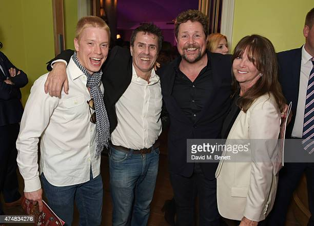 Freddie Fox Con O'Neill Michael Ball and Cathy McGowan attend an after party celebrating the VIP Gala Preview of The Elephant Man at The Haymarket...