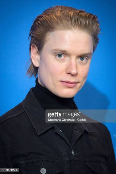 Freddie Fox poses at the 'Black 47' photo call during the 68th Berlinale International Film Festival Berlin at Grand Hyatt Hotel on February 16 2018...