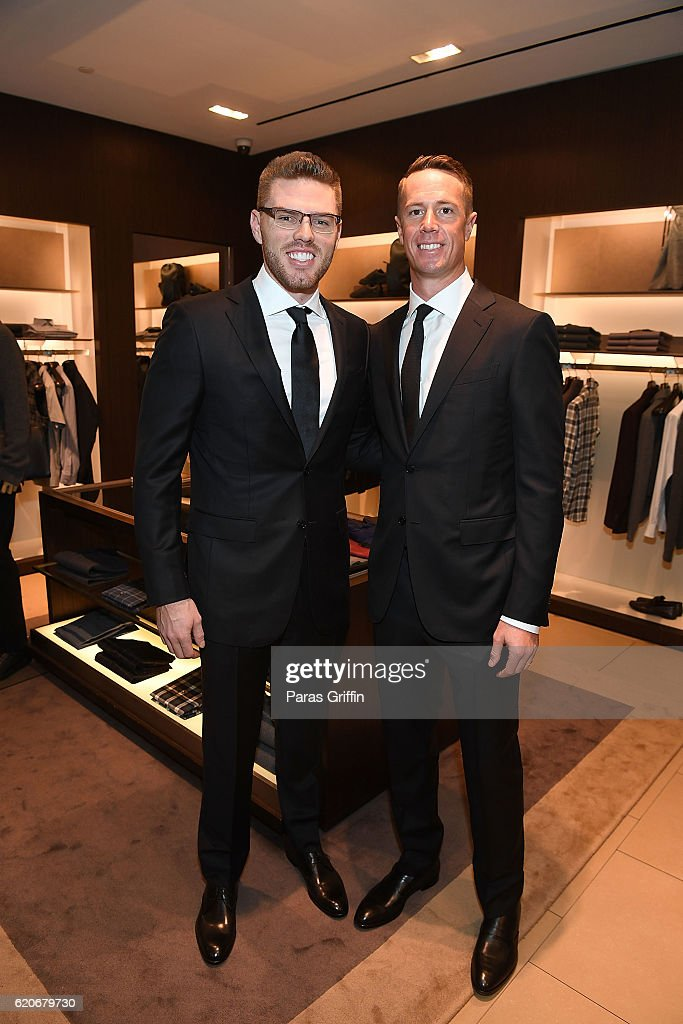 Ermenegildo Zegna: A Special Evening with Matt Ryan & Freddie Freeman