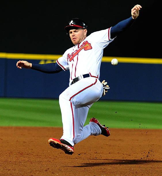 Freddie Freeman of the Atlanta Braves