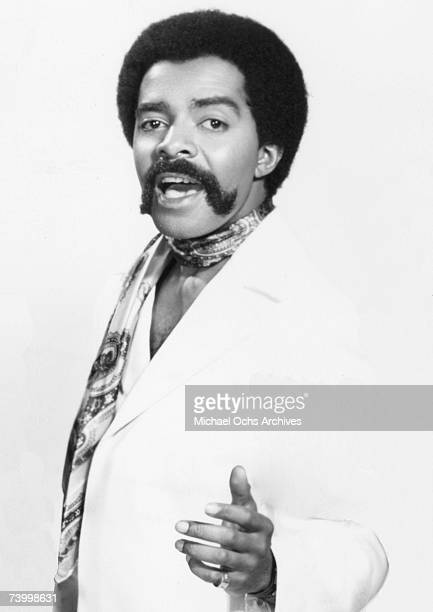 Freddie Gorman of the Motown vocal group The Originals poses for a portrait circa 1969 in New york City New York