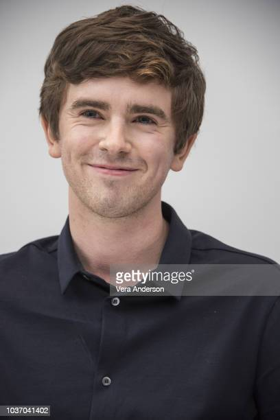 Freddie Highmore at 'The Good Doctor' Press Conference at the Andaz Hotel on September 20 2018 in New York City