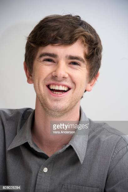Freddie Highmore at 'The Good Doctor' Press Conference at the Four Seasons Hotel on August 7 2017 in Beverly Hills California