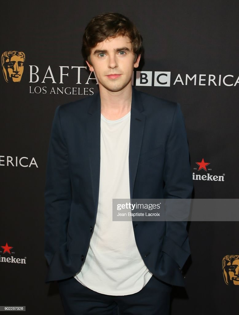 Freddie Highmore attends The BAFTA Los Angeles Tea Party at Four Seasons Hotel Los Angeles at Beverly Hills on January 6, 2018 in Los Angeles, California.