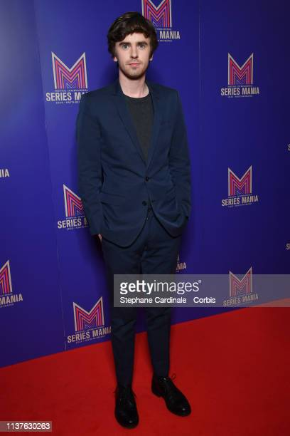 Freddie Highmore attends the Opening Ceremony of the 2nd Series Mania Festival In Lille on March 22 2019 in Lille France
