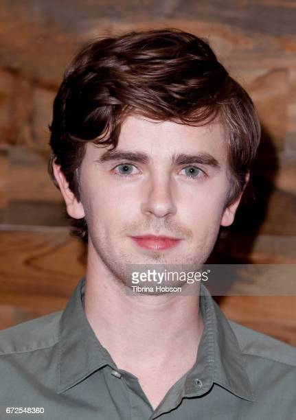 Freddie Highmore attends the Television Academy Event for AE's 'Bates Motel' at Universal Studios Hollywood on April 24 2017 in Universal City...