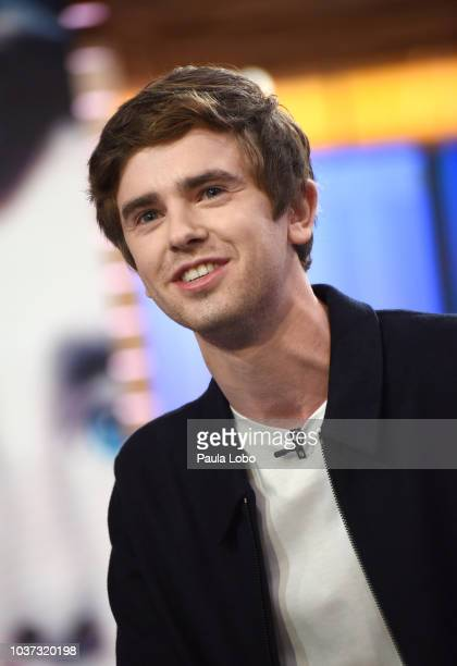 AMERICA Freddie Highmore is a guest on Good Morning America Friday September 21 2018 on the Walt Disney Television via Getty Images Television...