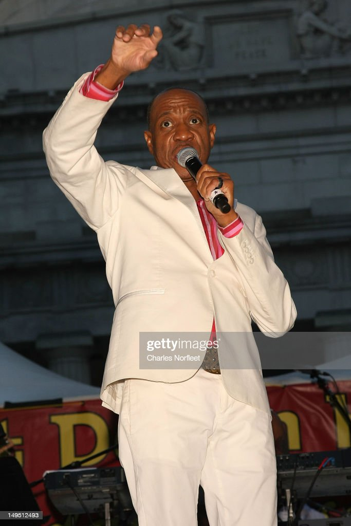 Freddie Jackson performs at Harlem Week's 38th Anniversary Celebration at Ulysses S. Grant National Memorial Park on July 29, 2012 in New York City.