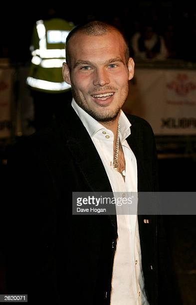 AND THEIR SISTER MAGAZINES OVERSEAS UNTIL TUESDAY OCTOBER 28 2003 AT 9AM GMT Freddie Ljungberg arrives at the Fashion Rocks event for The Prince's...