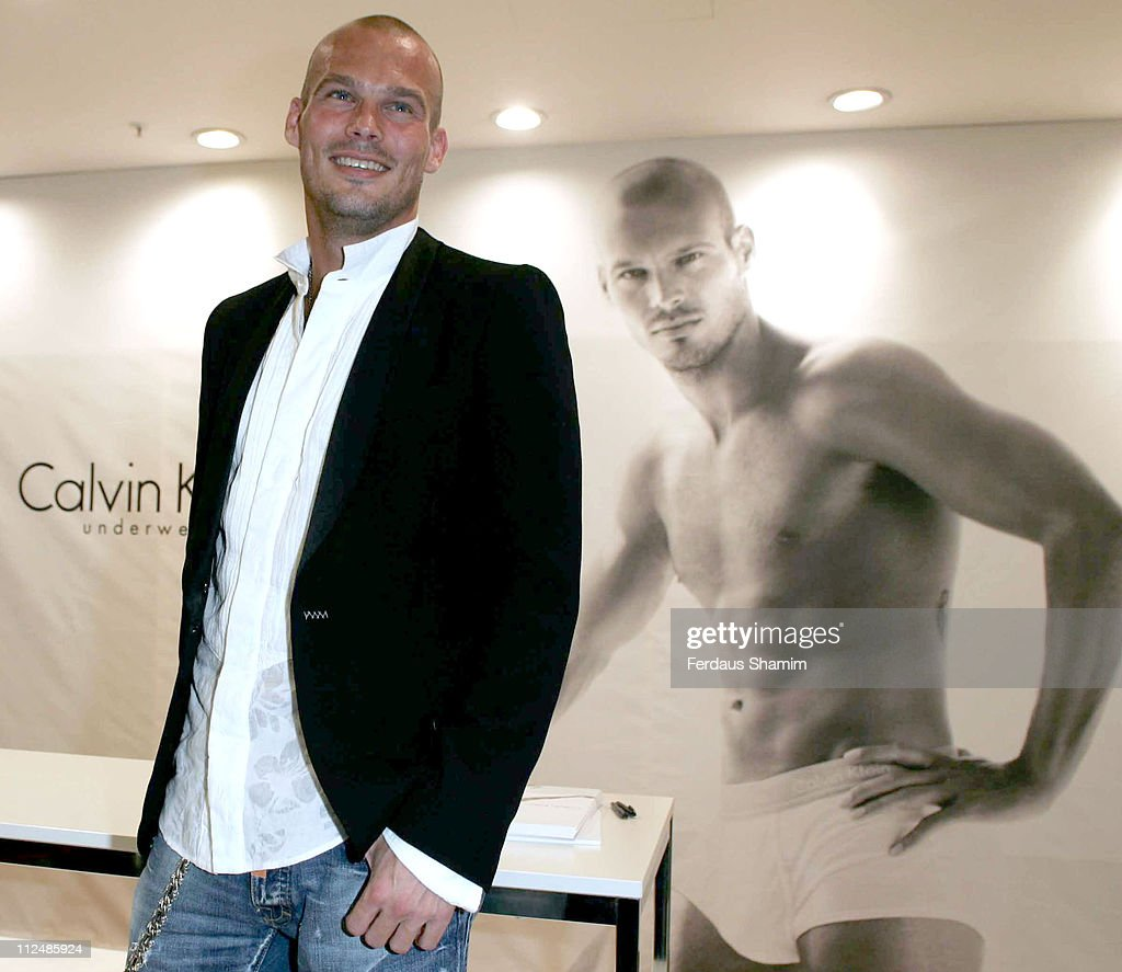 Calvin Klein Underwear Launch with Freddie Ljungberg