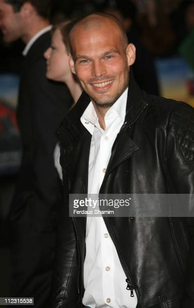 Freddie Ljungberg during SpiderMan 3 London Premiere Red Carpet at Odeon Leicester Square in London United Kingdom
