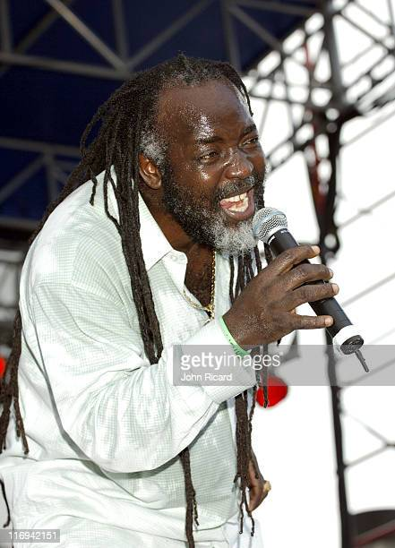 Freddie McGregor during VP Records Memorial Weekend Concert May 29 2005 at Bayfront Park in Miami Florida United States