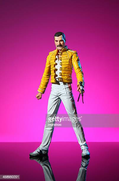 Freddie Mercury action Abbildung