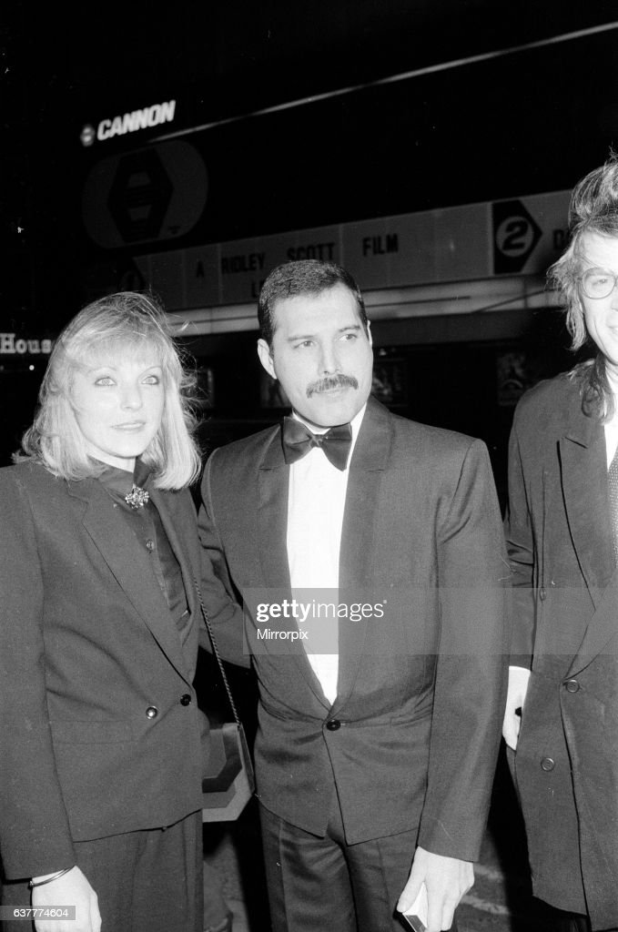 Freddie Mercury and Mary Austin in London, 1986 : News Photo