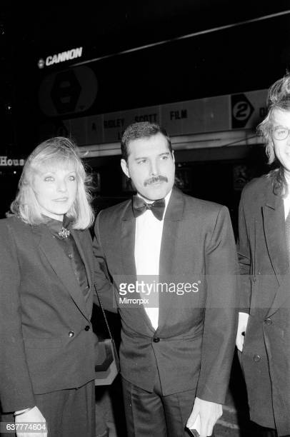 Freddie Mercury and Mary Austin in London 31st January 1986 Mary Austin is a long time friend and ex partner of Freddie Mercury Picture taken 31st...