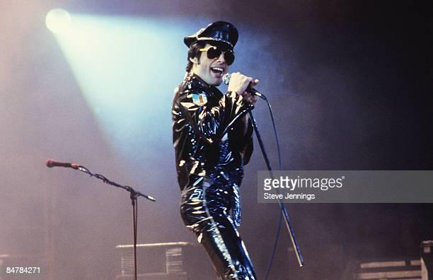 Freddie Mercury of Queen Jazz Tour 1980