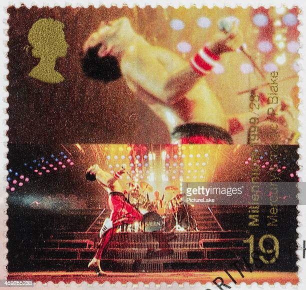 UK Freddie Mercury postage stamp