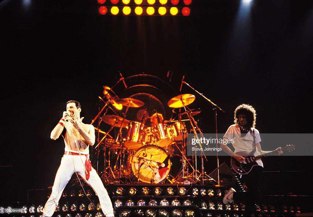 Queen File Photos from Northern California : News Photo