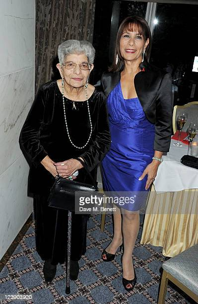 "Freddie Mercury's mother Jer Bulsara and sister Kashmira Bulsara attend ""Freddie For A Day"", celebrating Freddie Mercury's 65th birthday, in aid of..."