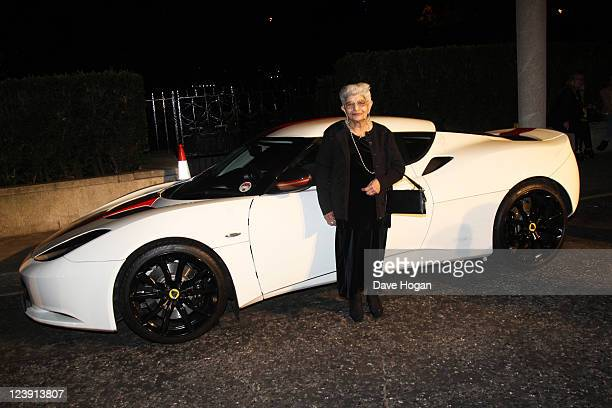 Freddie Mercury's mother Jer Bulsara attends the Freddie For A Day 65th birthday anniversary party at The Savoy Hotel on September 5 2011 in London...