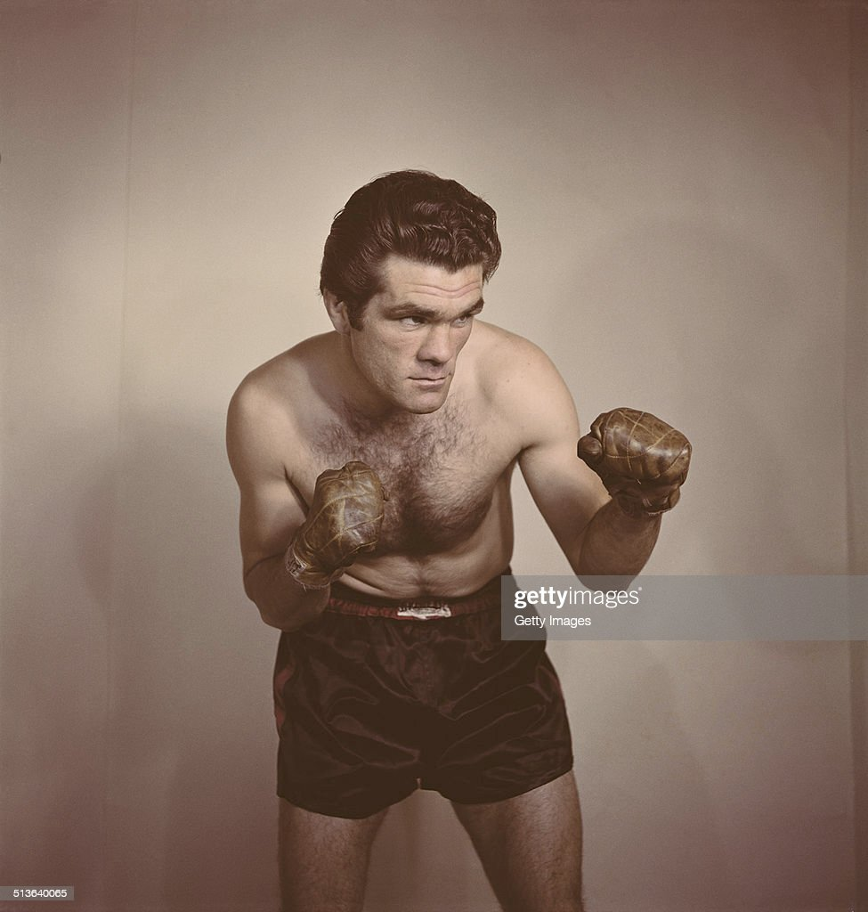 Freddie Mills of Great Britain and the world light heavyweight champion on 1st June 1948 in London, Great Britain.